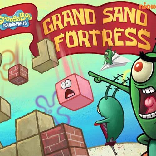 bob esponja la gran fortaleza de arena