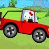 Hello Kitty Desafio de Conducción de Coche