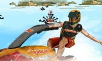 carrera de motos acuaticas