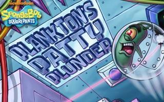 Plankton Roba la CangreBurguer