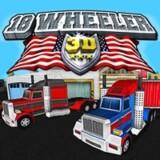 camion de 18 ruedas en 3d