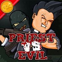 sacerdote contra el mal