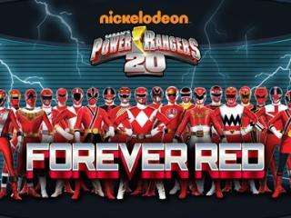 20th aniversario de power rangers siempre rojo