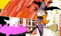 decora la casa para halloween
