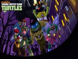 las tortugas ninja truco o pelea