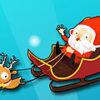 Carreras Locas de Santa Claus en su Trineo