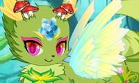 criatura del bosque estilo anime
