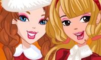 amigas de navidad