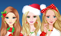 chicas navidenas modernas