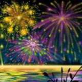 numeros ocultos de fuegos artificiales de ano nuevo