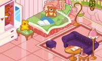 decora la habitacion de la gatita