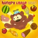 pequeno oso hambriento