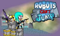 los robots no saben saltar