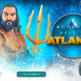 Aquaman Corre Hacia Atlantis