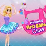 Primera Clase de Ballet de Princesas
