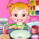 Baby Hazel Hora de Cepillarse los Dientes
