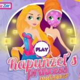 Cambio de Look a la Princesa Rapunzel