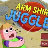 Arm Shirt Juggle