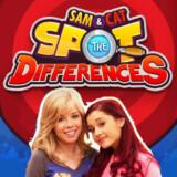 Encuentra las Diferencias de Sam y Cat