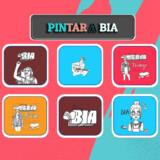 Dibujos de BIA para Pintar