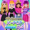 Estilo de Moda de Princesa K-POP