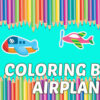 Libro de Colorear Aviones