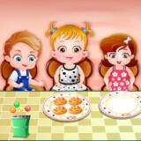 Baby Hazel Modales en la mesa