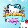 Kitty Para Colorear