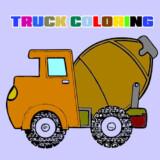 Libro Para Colorear Camiones