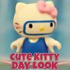 Rompecabezas del lindo día de Hello Kitty