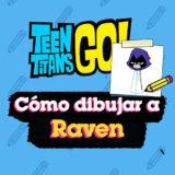 Como dibujar a Raven