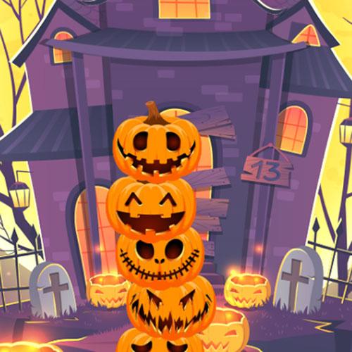 La Torre de Calabazas de Halloween