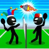 Stickman Deportes Badminton