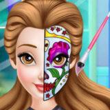 Tendencia de Caras Pintadas de las Princesas