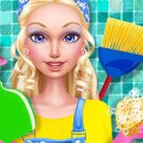 Limpieza de la Casa de Munecas de Moda