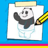 Aprende a Dibujar a Panda
