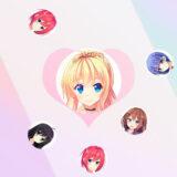 Bolas de Amor de Chicas Anime