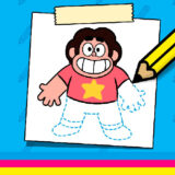 Como Dibujar a Steven