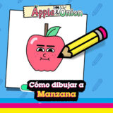 Como dibujar a Manzana